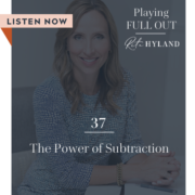 The Power of Subtraction